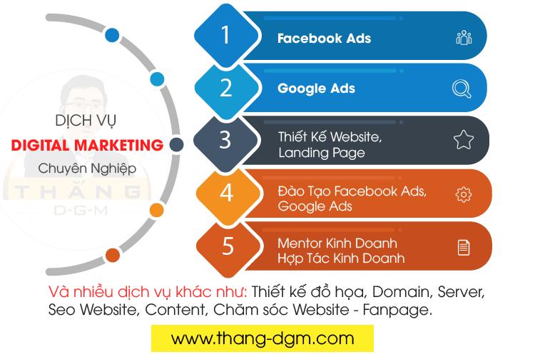 dịch vụ digital marketing trọn gói