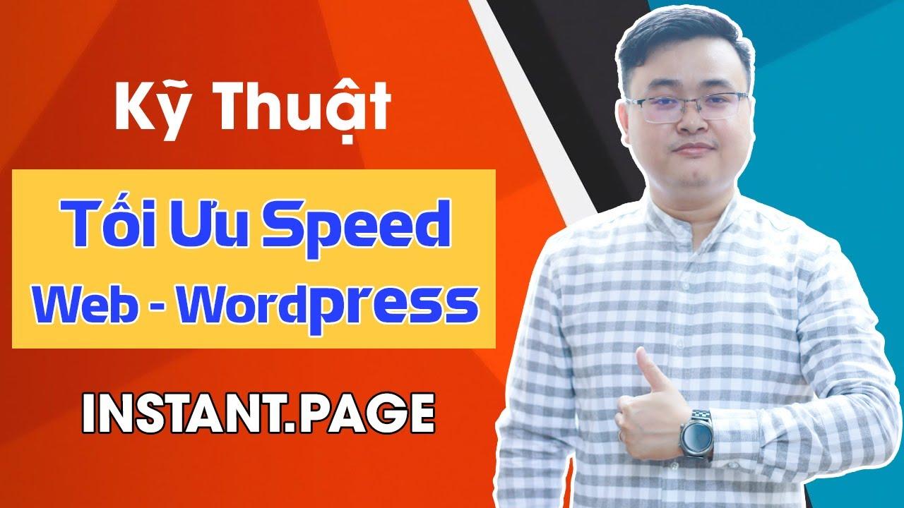 Cách tối ưu tốc độ load thực website wordpress ít người biết