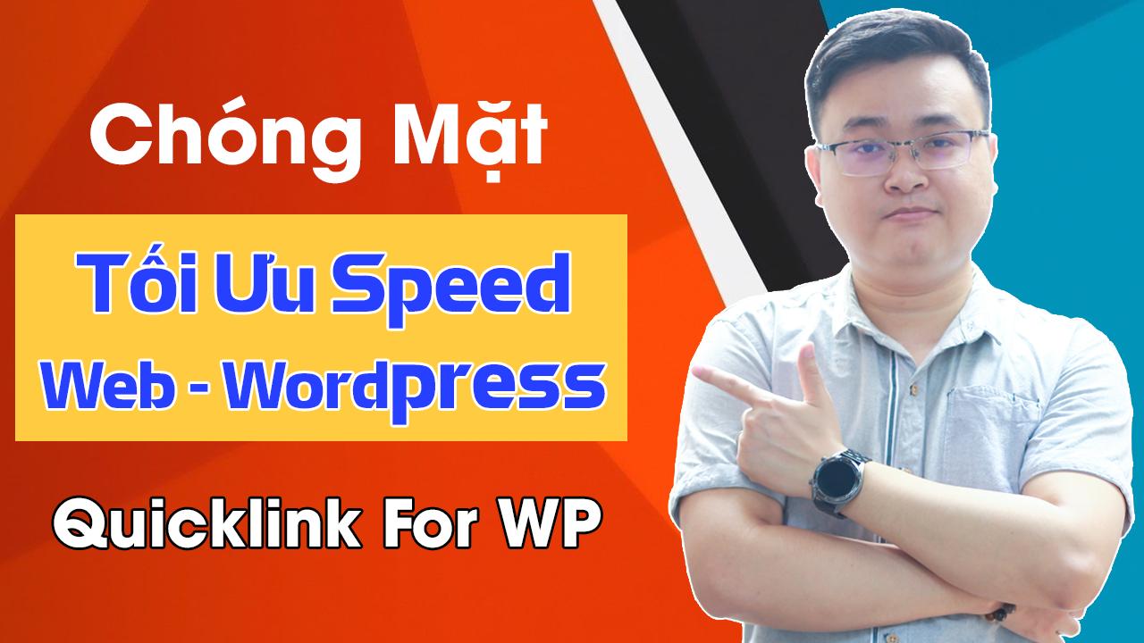 tăng tốc website với quicklink